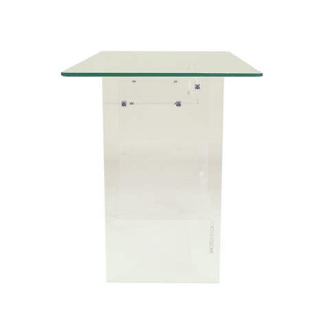 bureau en plexiglas bureau en plexiglas et verre piccolo