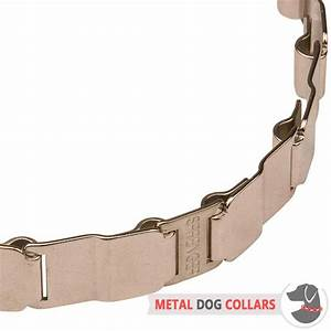19 inch Neck Tech Fun Stainless Steel Dog Collar [HS38 ...