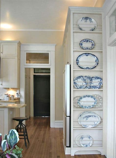 building a kitchen cabinet 25 best ideas about plate racks on cabinet 4968