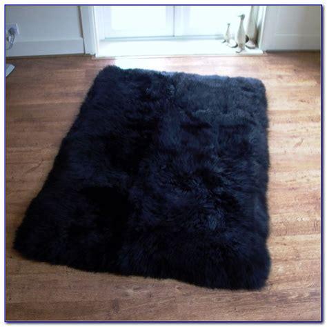 Schaffell Teppich Ikea by Black Sheepskin Rug Ikea Rugs Home Design Ideas