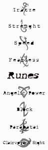 Runes, the Originals and Mortal instruments on Pinterest