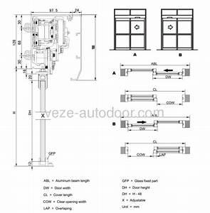 Bilen Utmerket Mekanisme  Sliding Door Frame Details