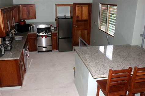 Upstairs Kitchen  Nosara Real Estate  Homes For Sale