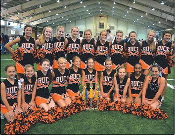 hoover middle school cheerleaders  camp champs alcom