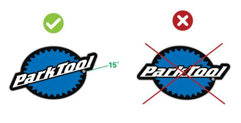 dl  logo decal park tool