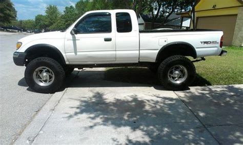 sell used 1999 tacoma trd sr5 v6 low reserve service records runs great in san antonio