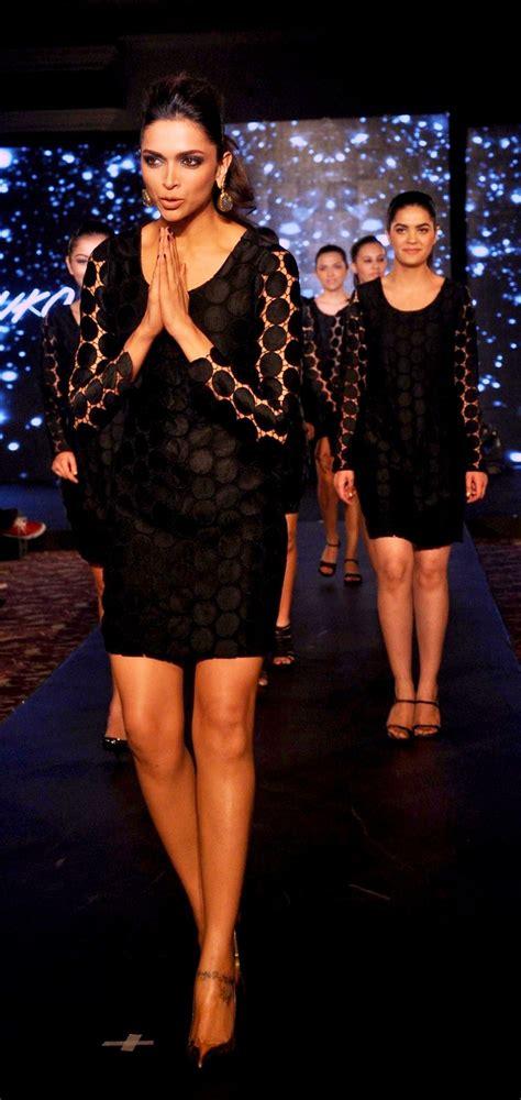 masala pics deepika padukone  hot black dress