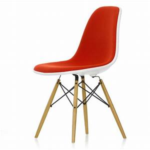 Vitra Eames Chair : vitra eames plastic side chair dsw full upholstery ~ A.2002-acura-tl-radio.info Haus und Dekorationen