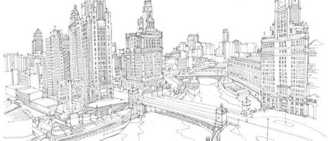 pin by mrs fox on cityscapes skylines drawings adult