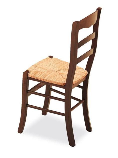 chaise en bois rustique cb1128 furlana chaise rustique connubia calligaris en bois avec assise en paille sediarreda