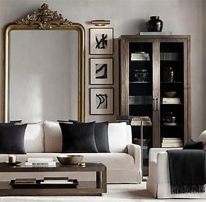 Miroir De Salon : le miroir dor en 40 photos ~ Teatrodelosmanantiales.com Idées de Décoration