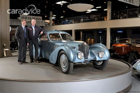 The bugatti type 57 and later variants (including the famous atlantic ) was an entirely new design by jean bugatti , son of founder ettore. 1937 Bugatti Type 57SC Atlantic aka the world's most expensive car is on display | CarAdvice