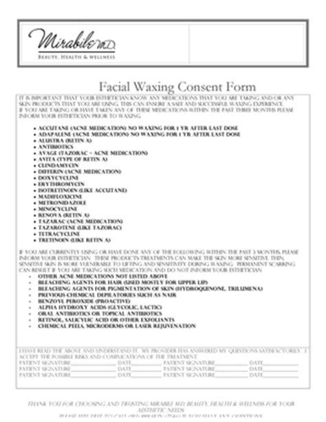 esthetician forms esthetician consent forms related keywords esthetician