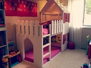 Ikea Mädchen Bett : ikea kura hack anderes pinterest kura bett kinderzimmer und m dchen bett ~ Cokemachineaccidents.com Haus und Dekorationen