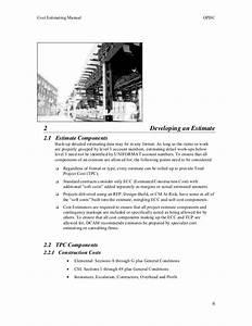 Consultants Estimating Manual