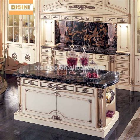 Vitoria Style Wooden Kitchen Cabinet With Drawing,Hand