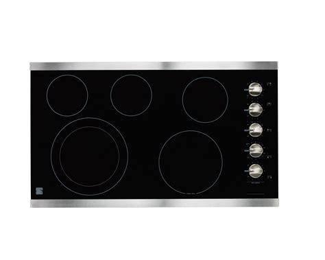 kenmore electric cooktop kenmore elite 41283 36 quot electric cooktop