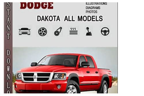 2006 dodge dakota owners manual download