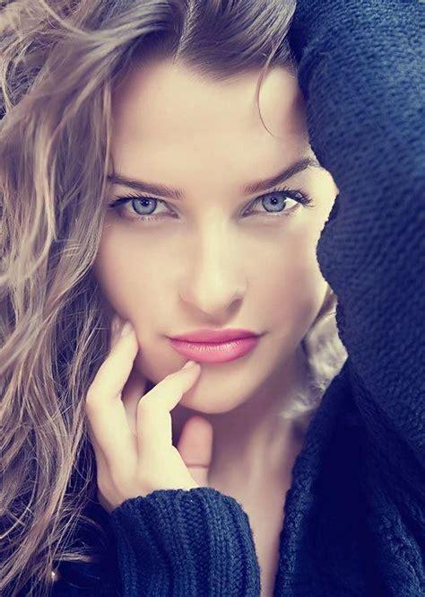 Brunette Sexy Face Mucho Flawless Best Hot Girls Pics
