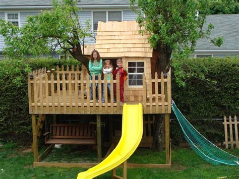 How To Build A Treehouse Without A Tree For Kids Design