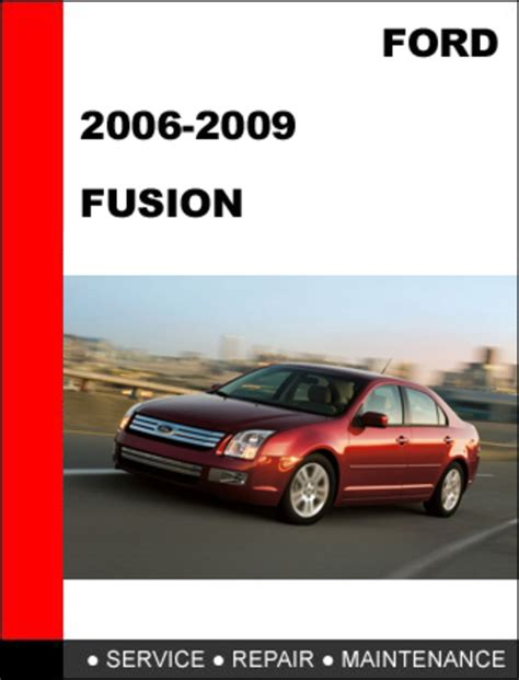 ford fusion    factory workshop service repair