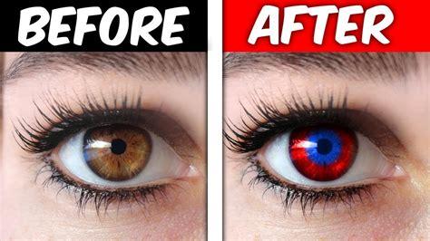 eye color change change your eye color trick it works omg