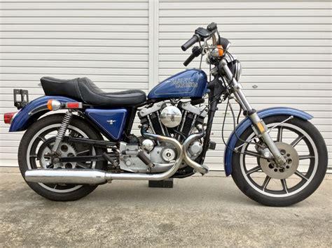 1979 Harley Davidson Sportster Xlh1000 Up For Auction