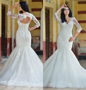 princess lace mermaid style wedding dresses 2016 plus size With plus size wedding dresses mermaid style