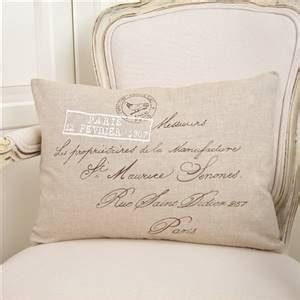french script cushion bliss and bloom ltd
