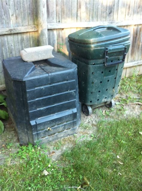Teresa's Garden Song Easy Composting Bin From Garbage Can