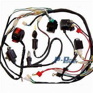 Full Electrics Wiring Harness Coil Cdi Assembly 50  70