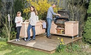 Outdoor Kitchen Selber Bauen : outdoor kuche aus holz selber bauen ~ Lizthompson.info Haus und Dekorationen