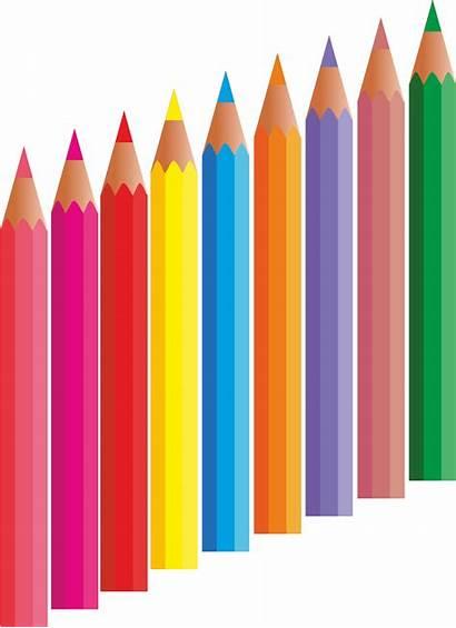 Pencil Clipart Colored Cliparts Pencils Clip Sharing