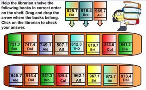 dewey decimal system call numbers  nonfiction books