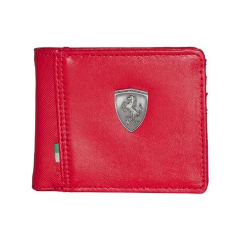 Puma ferrari sports wallet & key ring gift set. Puma Ferrari Wallet, Red - Swish Wallets for Men