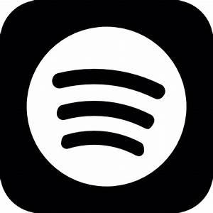Spotify logo button - Free social icons