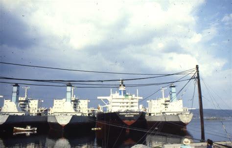 Tankskip i opplag i Sandebukta. - Norsk Maritimt Museum ...