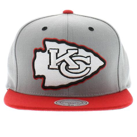 kansas city chiefs colors kansas city chiefs team colors gray 2 tone with velcro