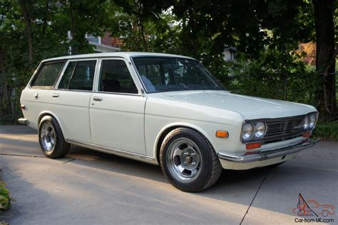 Datsun 510 Bluebird For Sale by Datsun 510 Wagon Clean Original Nissan Bluebird White