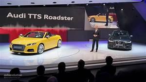 Audi Paris Est Evolution : all new audi tt and tts roadster mark world premiere in paris live photos autoevolution ~ Gottalentnigeria.com Avis de Voitures
