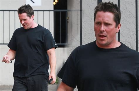 Christian Bale Struggles Lose Weight After Packing Lbs