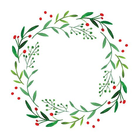royalty free wreath clip vector illustrations istock