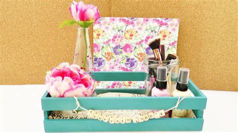 zimmer deko diy diy zimmer dekorieren deko aufbewahrung einfach gestalten schreibtisch kosmetik