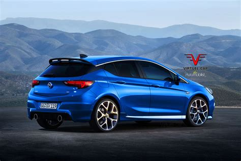 opel astra opc  rendered proves hot hatches