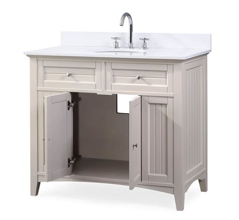 Thomasville Bathroom Cabinets And Vanities by 42 Quot Thomasville Cottage Style Taupe Bathroom Cabinet Sink