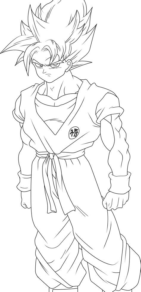 goku coloring pages coloring pages  print