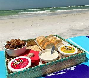The Perfect Beach Day Snack - A Delicious Bread Tray - The ...
