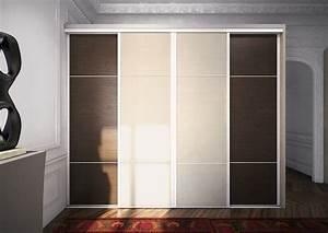portes placard coulissant dootdadoocom idees de With porte d entrée alu avec miroir de salle de bain avec éclairage led