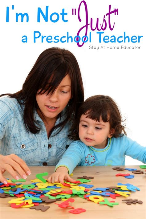 not just a preschool so much more 289 | Im not just a preschool teacher and here is why...