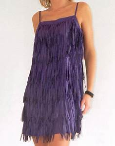 location de robe a franges violettes robe courte a With robe a franges